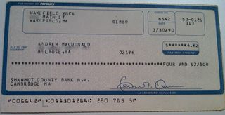 First check1